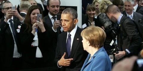 Obama and Merkel at Hannover Fair 2016 / Flickr / zveiorg / CC BY-NC-SA 2.0