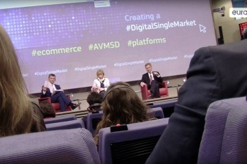 Press conference on the Digital Single Market e-commerce and content packages on May 25, 2016 / ec.europa.eu