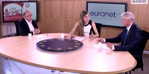 """U Talking to Me?"" debate with MEPs Dimitrios Papadimoulis and Krisjanis Karins"